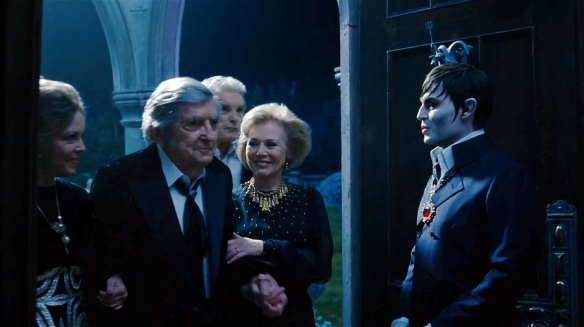 Original actors' cameo, Dark Shadows 2012